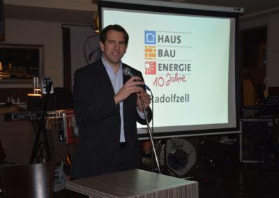 Jubiläumsfeier: HAUS BAU ENERGIE 2014